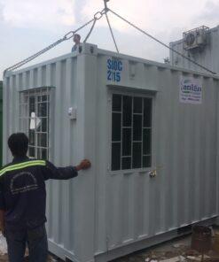 container 10feet văn phòng bảo vệ