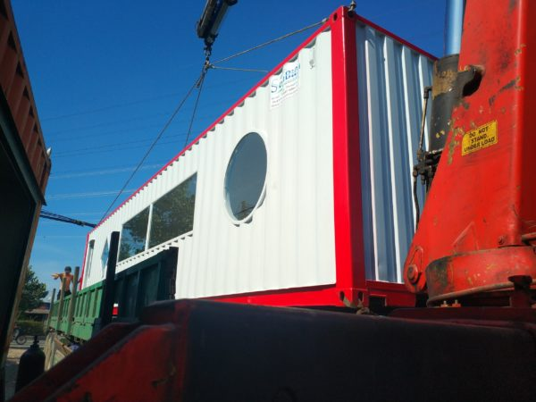 Container 40feet theo thiết kế