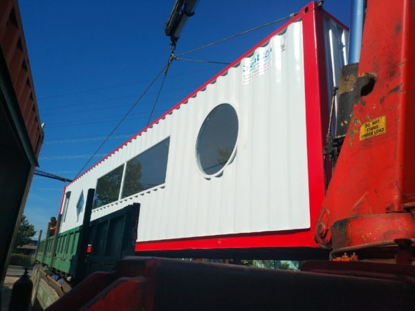 Container theo thiết kế đăng cấp