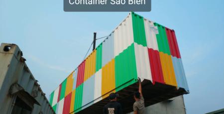 Container 7 sắc cầu vòng