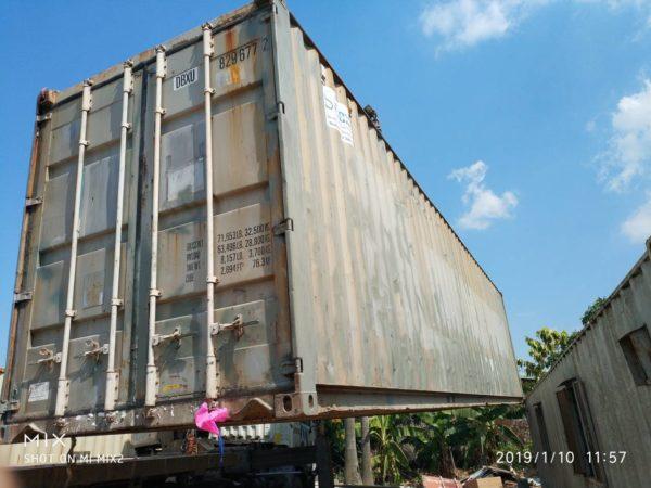 Container kho 40feet giá tốt nhất toàn cầu