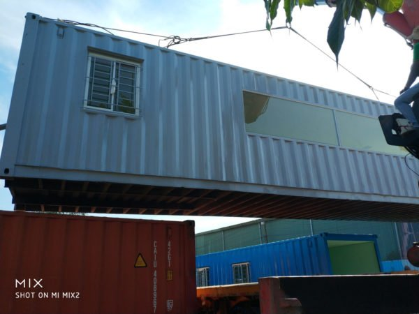 container cafe, container văn phòng